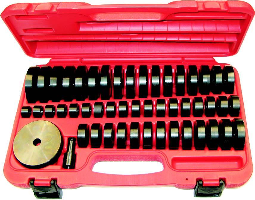 T Amp E Tools 9012 50pc Custom Bush Bearing Amp Seal Driver